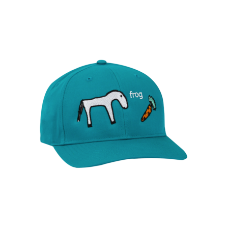 Frog Horse Hat - Teal