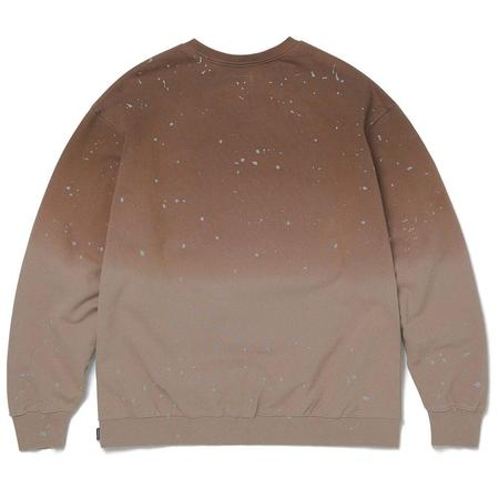 ThisIsNeverThat Dip Dyed Crewneck Sweater - Mocha