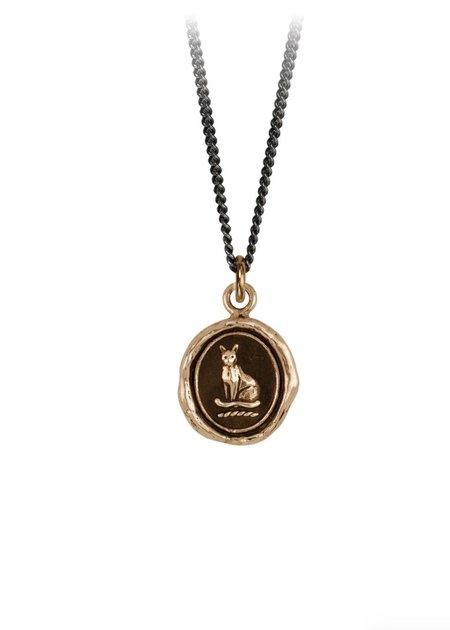 Pyrrha Autonomy Talisman necklace