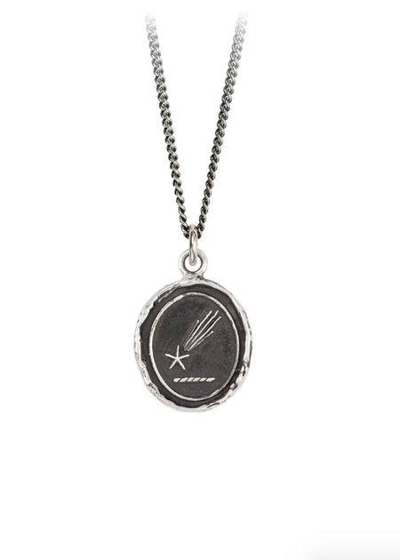 Pyrrha Shooting Star Talisman necklace - Silver