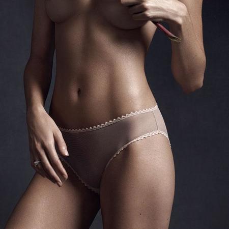 Taryn Winters Kharis Brief - Pink Beige
