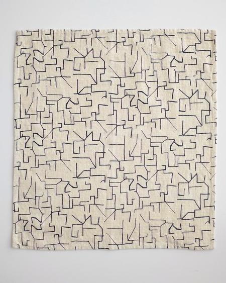 Jenny Pennywood Everyday Napkins - Maze In Midnight
