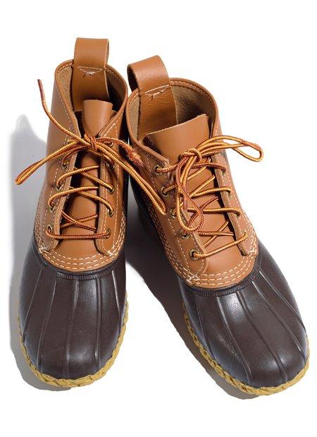 """Vintage L.L Bean """"6"""" Bean Boots - Brown"""