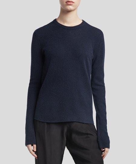 ATM Midnight Cashmere Crew Neck Sweater - Midnight