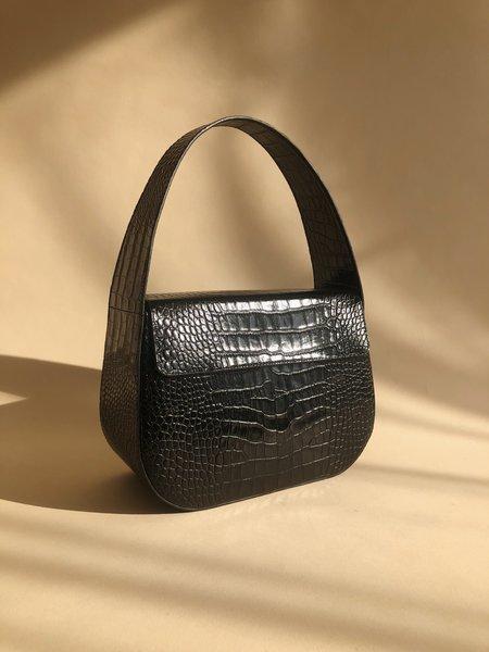 BLAME LILAC Cesta Bag - Black Croc
