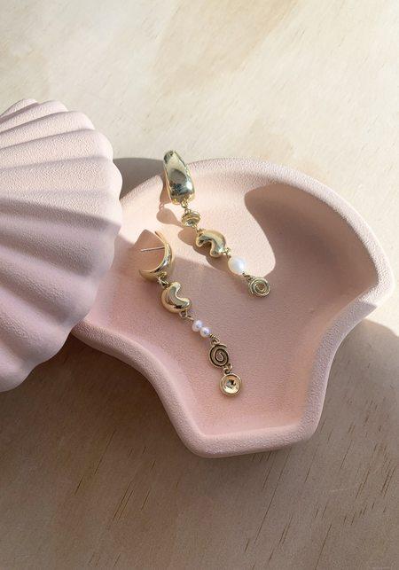 Leigh Miller Doodad Charm Earring