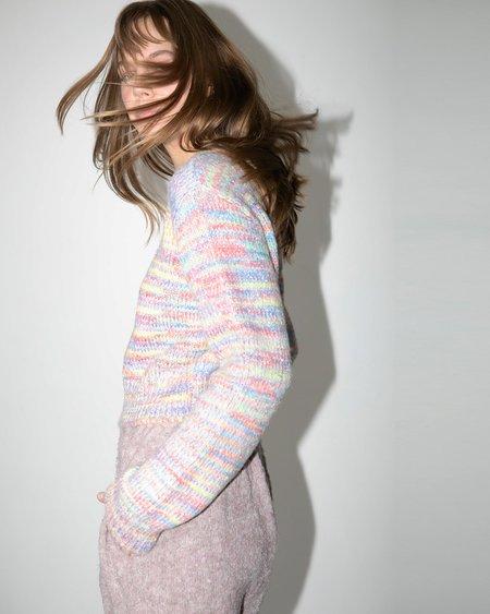 Lart Jaya Space Dye Sweater - Petal