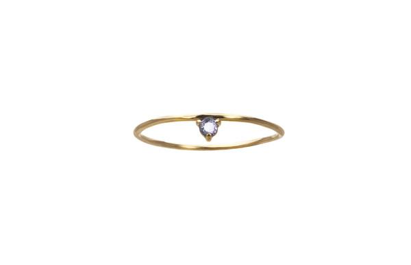 WWAKE One-Step Sapphire Ring