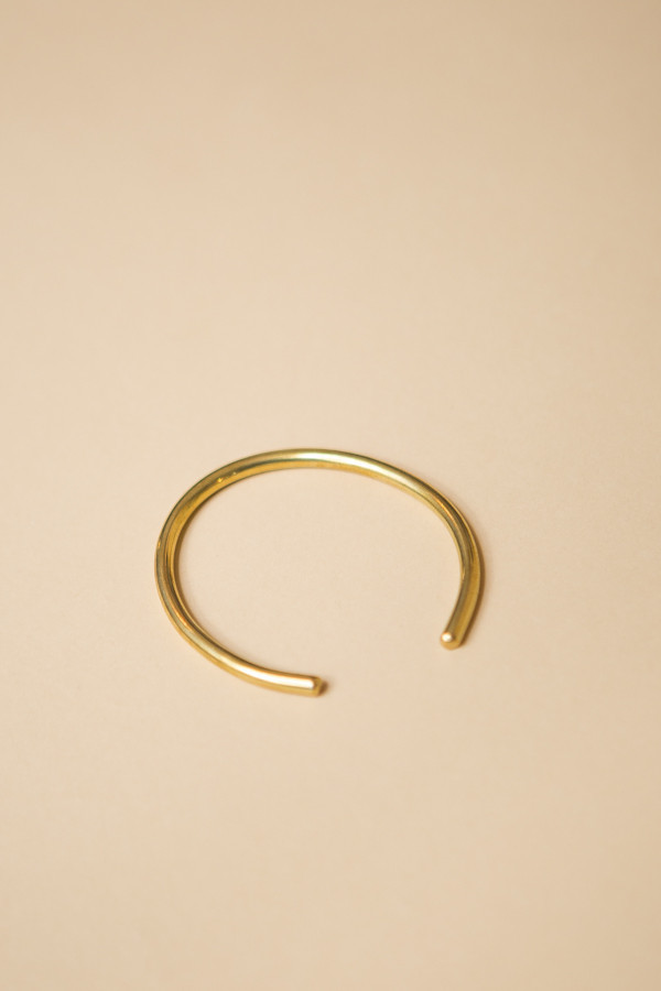 Seaworthy Espere Off-Set Cuff - Brass