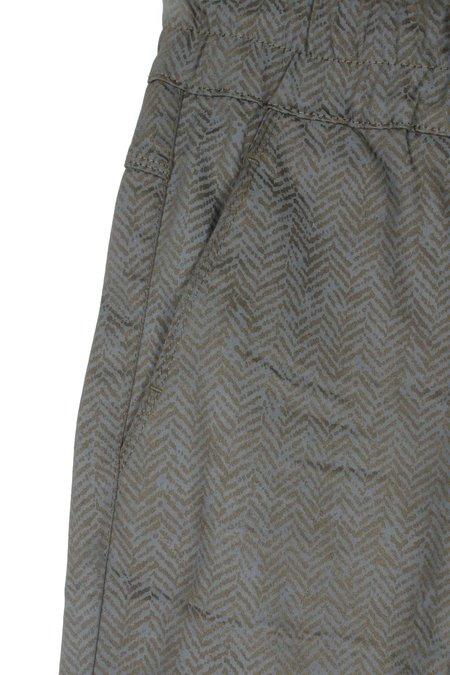 Bevy Flog Shely Herringbone Pant - Gray