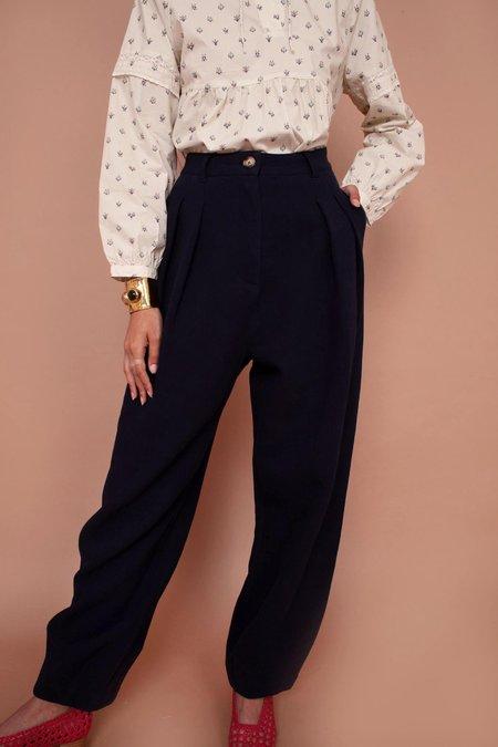 Meadows Garance Trouser - Navy