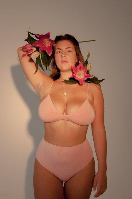 HARA THE LABEL Stella Low Cut Bra - Pink