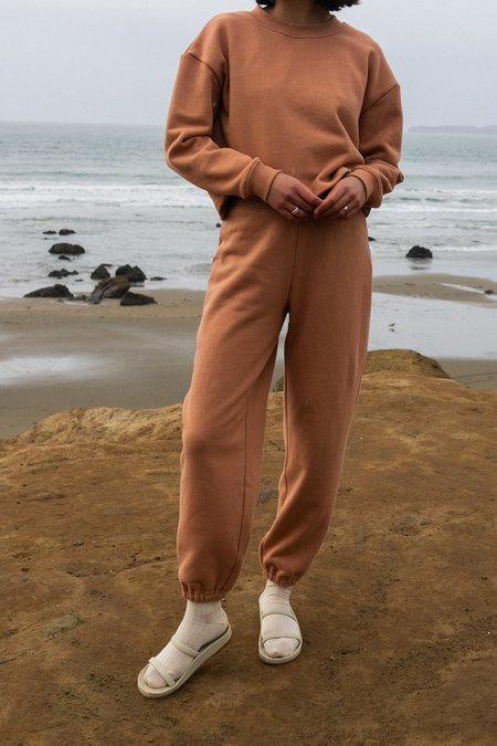 Waltz Easy Sweatpants - Clay