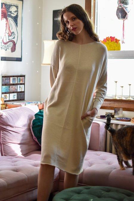 FFORM Panelled Dress - Natural