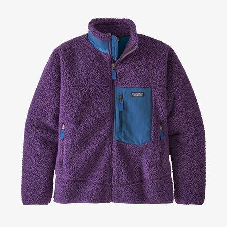 Patagonia Classic Retro-X Fleece Jacket - Purple