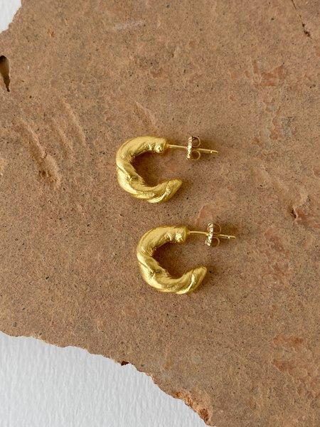 Mercurial NYC Vivy Hoops - 14k gold