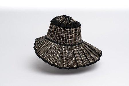 Lorna Murray Island Shell Melbourne Hat - Black