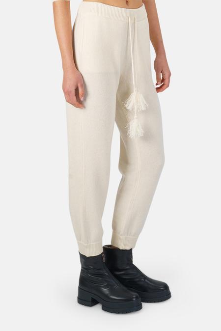 LoveShackFancy Tristan Pants - Cream