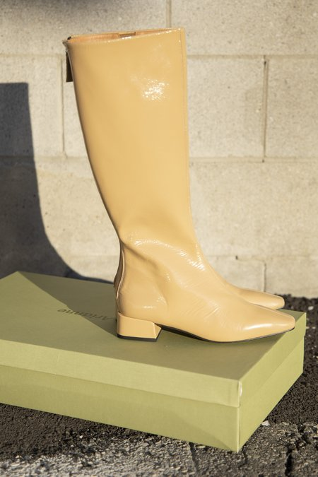 About Arianne Cordelia Boots - Wood