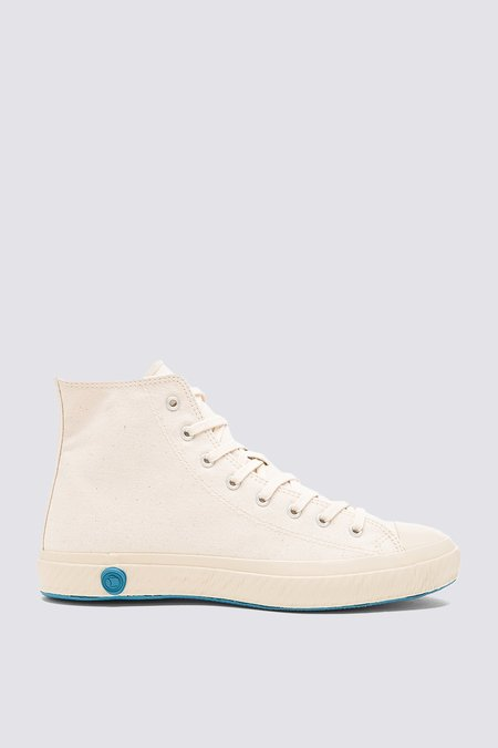 UNISEX Shoes Like Pottery High Top Canvas Sneaker - Natural