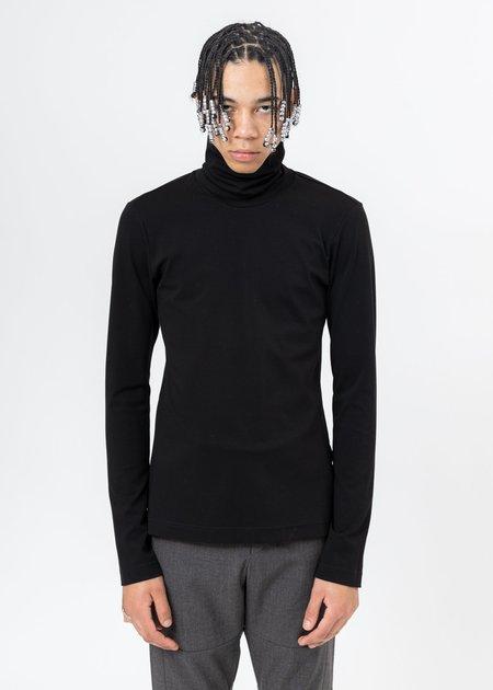 CORNERSTONE Turtleneck Long Sleeve - Black