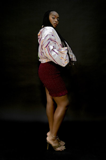 Abacaxi Hibiscus Smocked Shorts