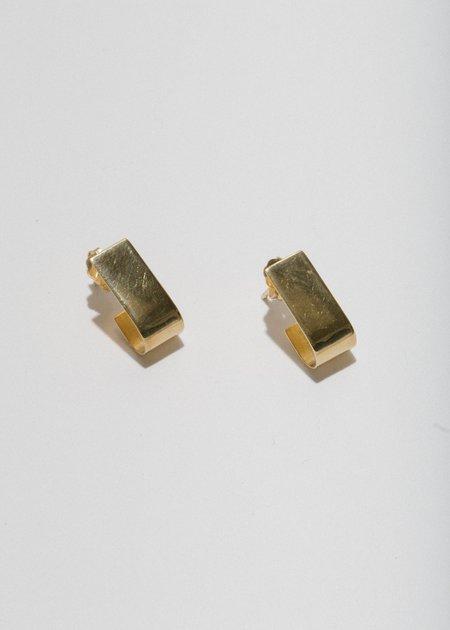 Merewif Patti Studs Earing - Gold