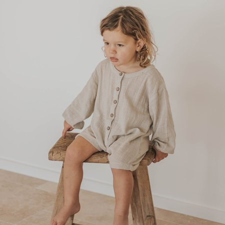 Illoura Husk Romper - Natural