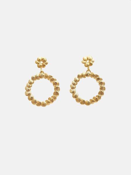 Yasmin Hackett Mini Double Circle earrings