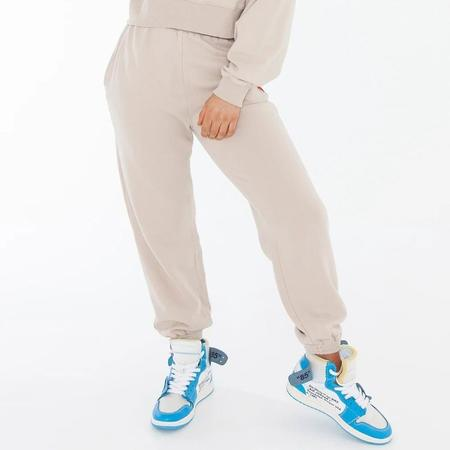 Bayse High Waisted Sweatpants - MILK