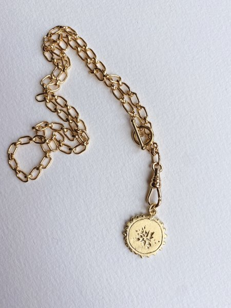 Mercurial NYC Scatter Necklace - Gold