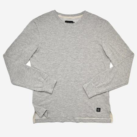 Outclass Slub Long-Sleeve T-Shirt - Heather Grey