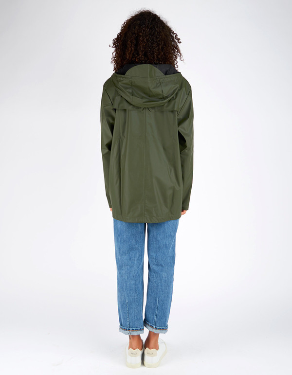 Unisex Rains Breaker Jacket Women's Green