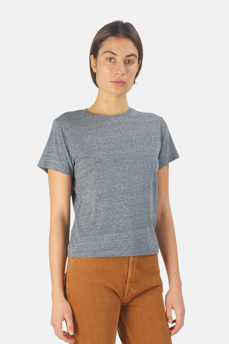 RE/DONE Re/Done Recycled Classic T-Shirt - heather grey