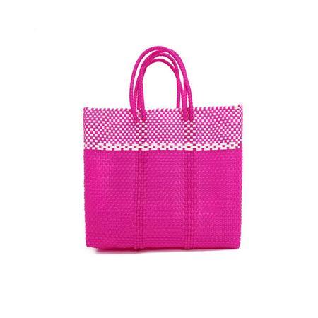 Letra Medium Dulce Mercado Bag - Pink