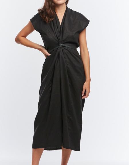 Miranda Bennett Silk Knot Dress