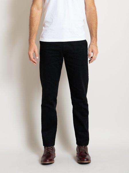 Freemans Sporting Club Arc Pant - Black Denim