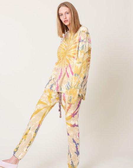 Dr. Collectors Longsleeve T - Spiral Desert Tie Dye
