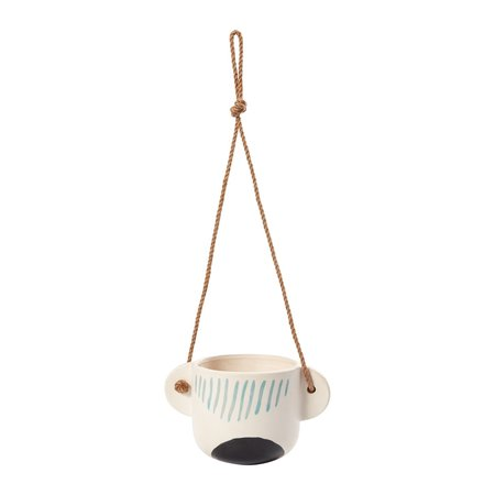Greenwood Fresh Hanging Planter - white