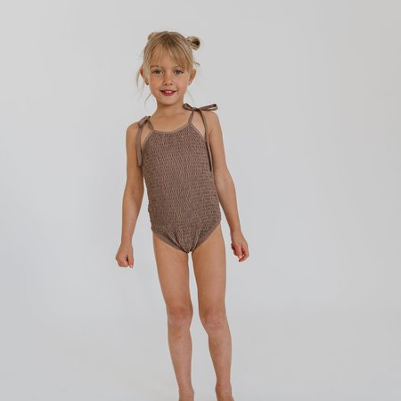 Illoura Meika Swimsuit - Vintage brown