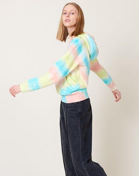 Clare V. Hoodie - Pastel Tie Dye