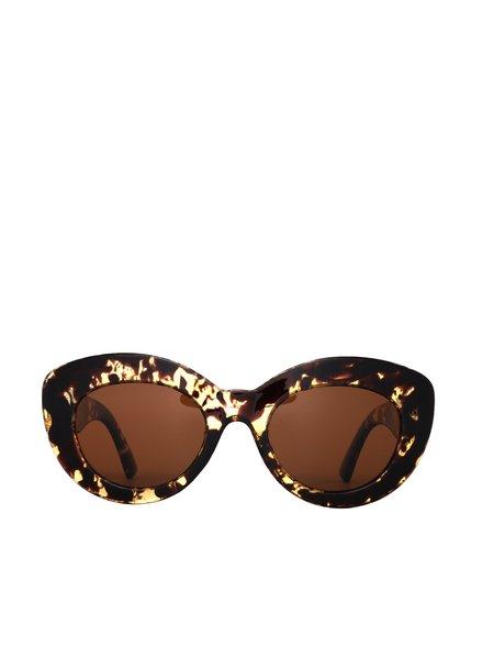 Reality Eyewear Marmont Sunglasses - Honey Turtle