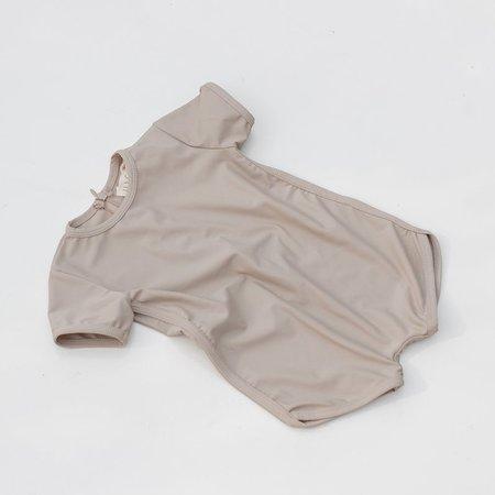 Kids Illoura Wren Swimsuit - Pale Khaki