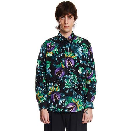 MSGM Men Long-sleeved Shirt - Multicolor