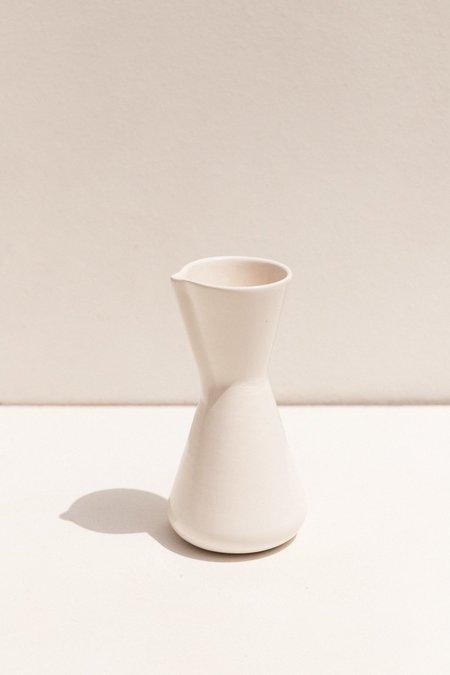 Gidon Bing Small Coffee Percolater - Satin White