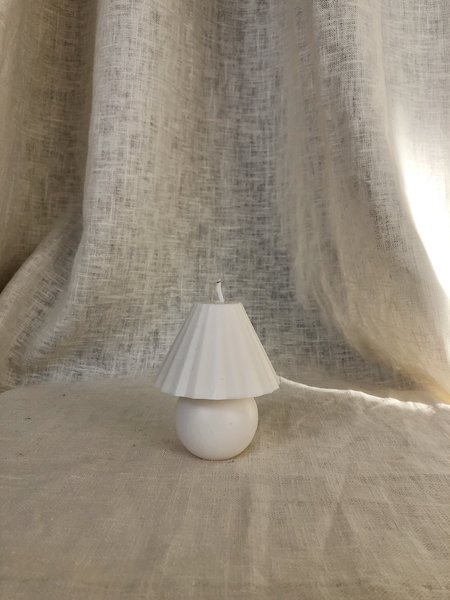 Ri-ri-ku Mini Lamp Candle - White