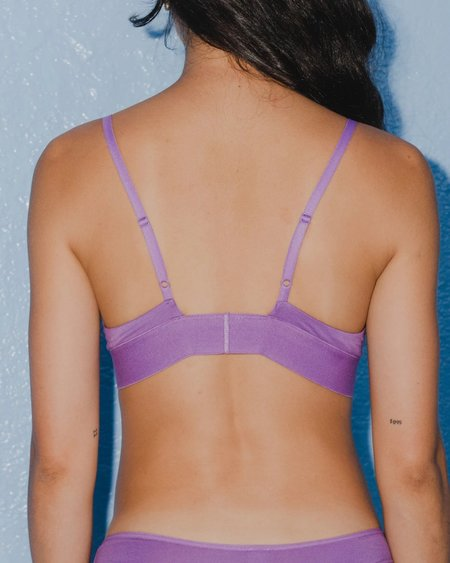 Baserange Triangle Bra - Chay Purple