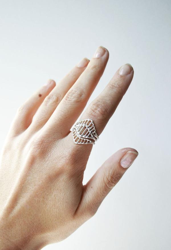 Stefanie Sheehan Arcade Ring (Silver)