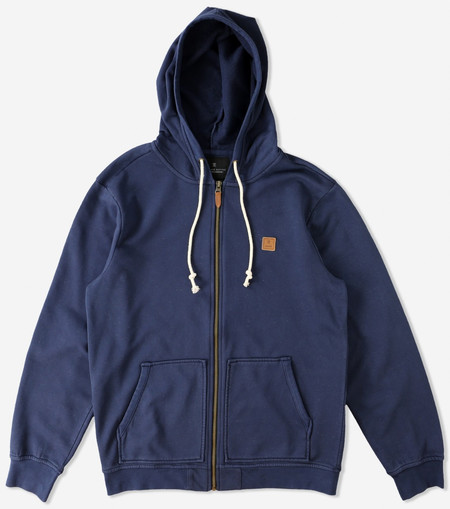 Men's Roark Revival Well Worn Hooded Zip Fleece