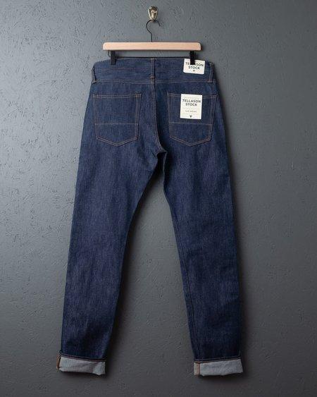 Tellason Stock Straight Leg Jeans  - blue